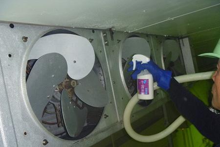 ユニットクーラー 防カビコーティング